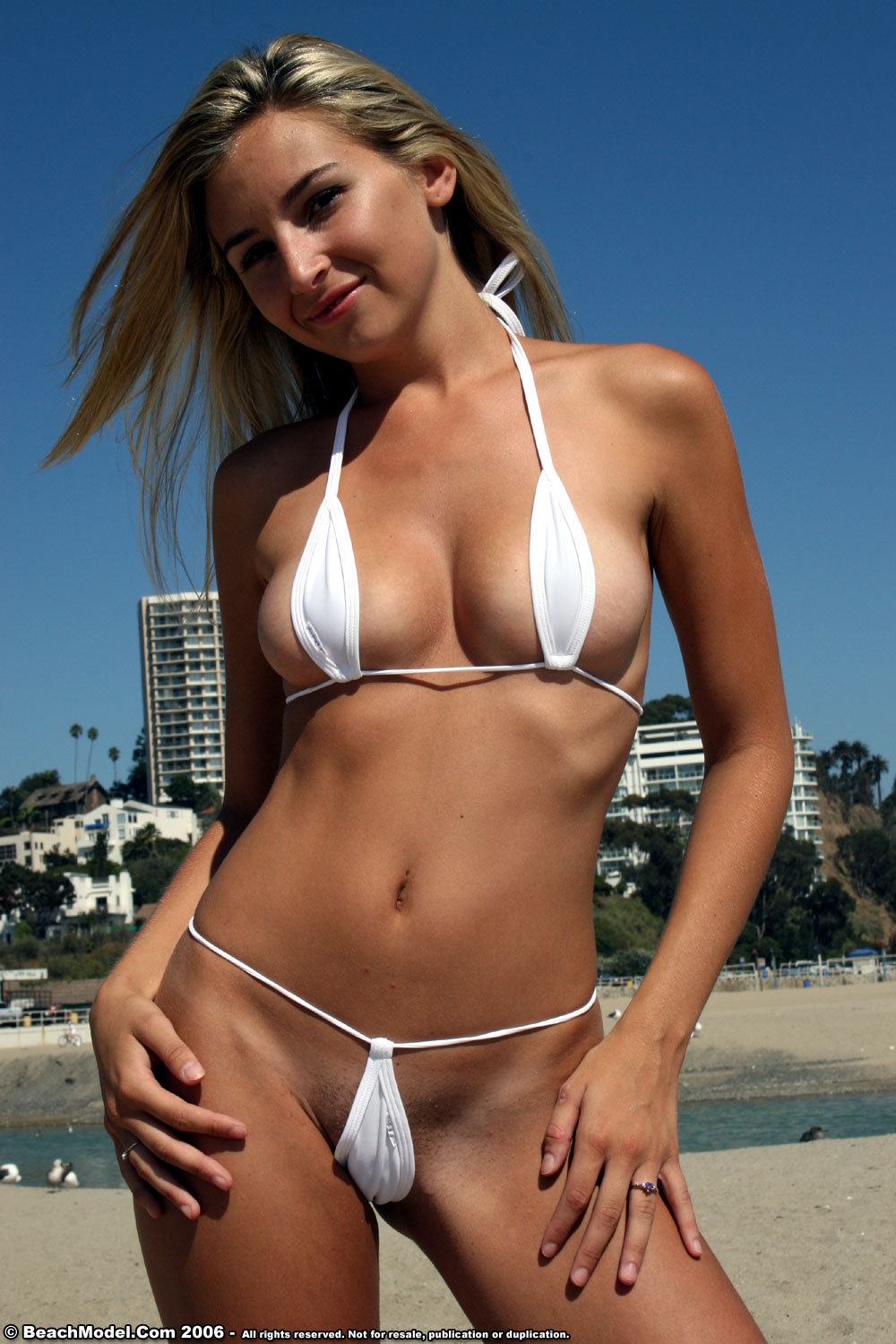 Micro Bikini In Beach